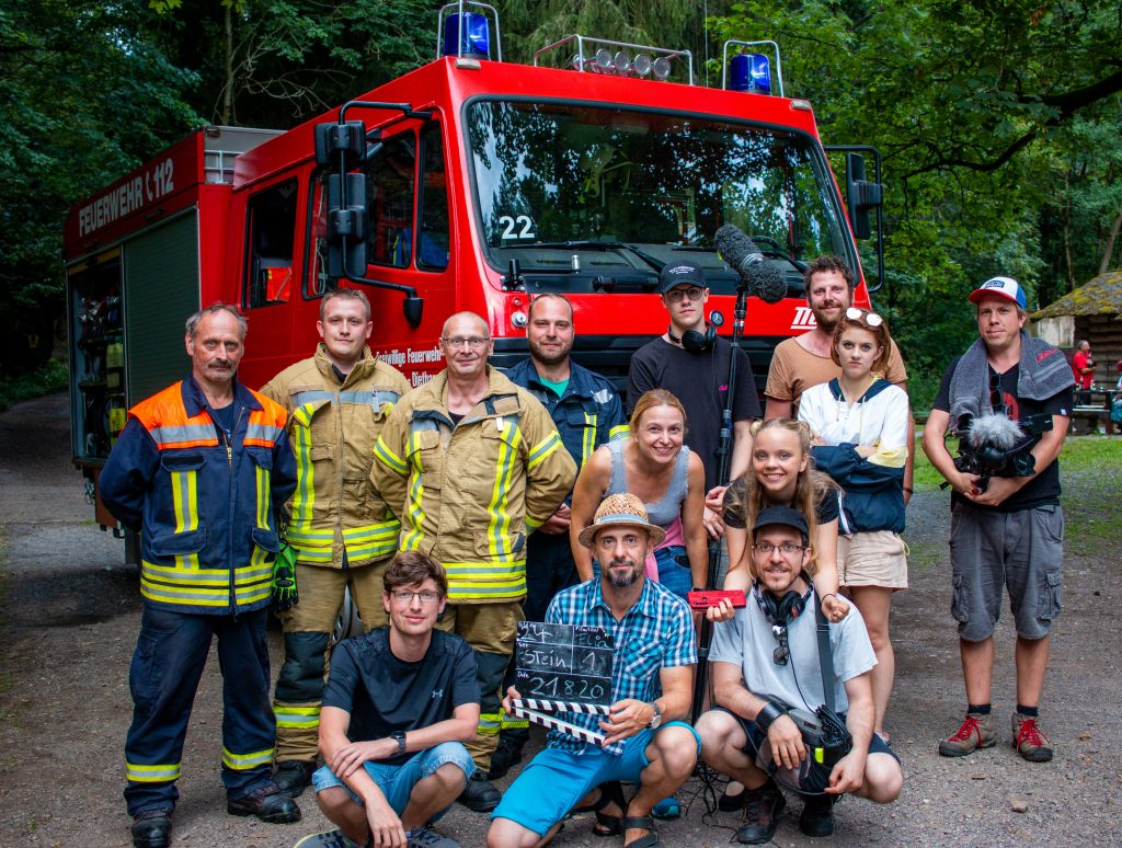Drehtag mit der Feuerwehr aus Tambach-Dietharz